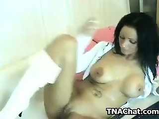 European Whore Plays With Herself