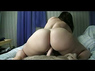 PAWG Plays With Her Dildo