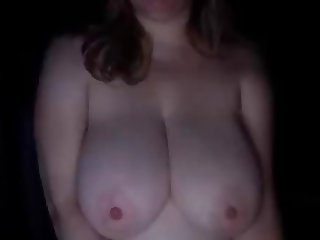 Big natural tits played with