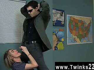 Hot gay scene The nice towheaded boy is getting a individual