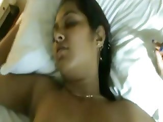 GF on bed