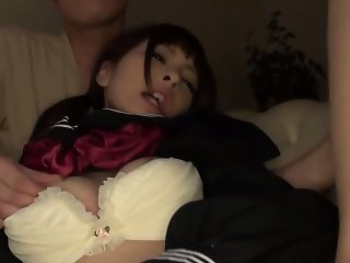 Asian high school teen fingered
