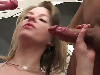 pregnant - amateur girl get group sex and anal