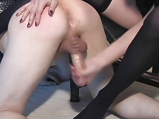 CBT and milking slave by nlonde mistress
