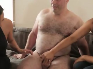 SPH session for shameful guy and his lousy small cock