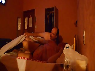 Dude fucks his 47yo wife in the hotel room