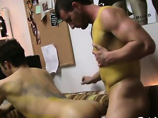 Homo forced to engulf cock