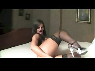 Muscle Milf Enjoys Her Big Clit BVR