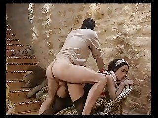 2 girls anal fucked and fisting