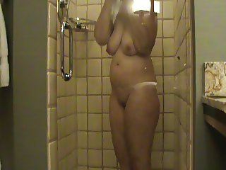 My Sexy Wife in the shower