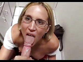 Cougar Head #29 A Submissive Wife dressed as a School Girl