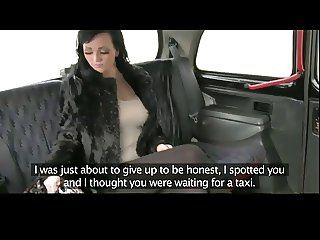 Taxi Driver Picks Up Real Hooker BVR