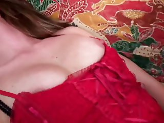 Gorgeous young french brunette has her ass and pussy stuffed with hard dick