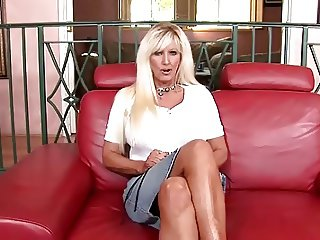 Sexy granny with big tits