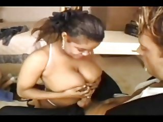 Latina tittyfuck (slowmotion)