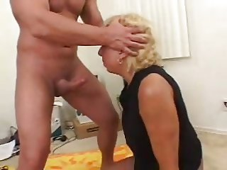 Mature gets assfucked