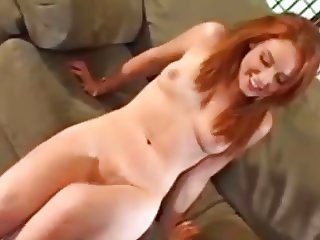 Gorgeous Redhead Teen Loves Licking Her Ass Juices Off Cock