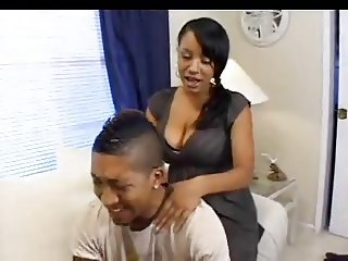 Tysingh - Hot Brown Babysitter action