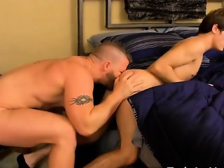 Gay XXX Ryker Madison unknowingly brings loan shark Jeremy S