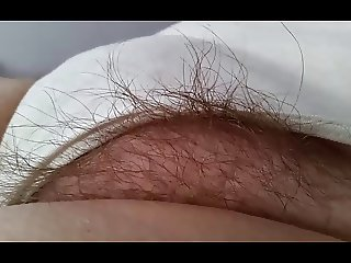 wifes sexy feet & big hairy pussy in white pantys