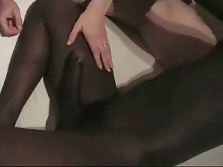 Cuck films German wife with BBC