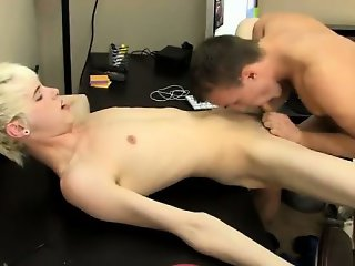 Gay movie Timo Garrett takes a penis shot to email his screw