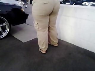 Thick Ghetto Mature Booty