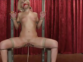 pretty blond slave used 3 of 3