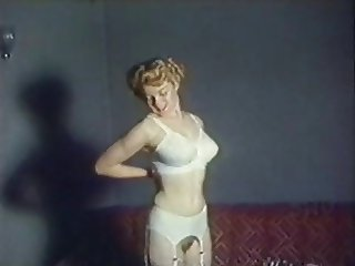 WOMAN - vintage stockings striptease music video