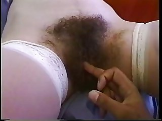 Hot Mega hairy Nurse take cock in her Ass