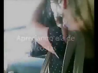 Encoxada 151: Spectacular blonde in her mid 30s on da bus