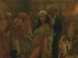 Casbah middle eastern dancing girl (non nude)