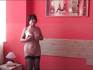 Mature Doll Showing it All