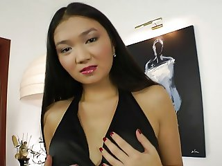 Jerk off to Asian Girl getting fucked by Russian in 60 FPS