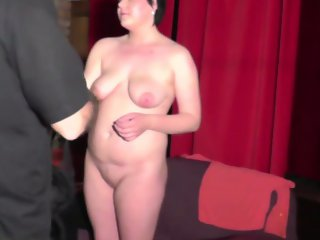 First CASTING for 19yo chubby amateur