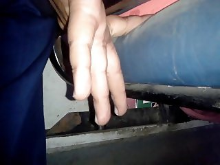 TOUCH FINGER ASS YOUNG WIFE PANTS (HUSBAND NEXT) 4