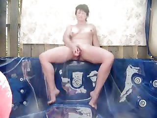 Enjoy my mature exhibitionist slut. Amateur older