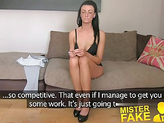 MisterFake Sexy fake casting amateur takes huge cumshot