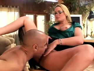 Office Slut Fucks New Guy