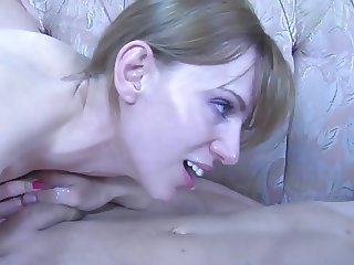 The Perfect Woman Using Strap-on - The End is Worth Watching