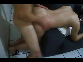 Cucky films his cute wifey getting pounded balls deep