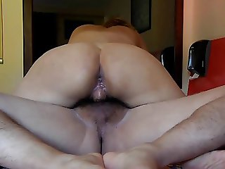 Riding on my lover and cum inside my pussy