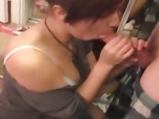 My Young Girlfriend Blowjob - Stolen from mobile phone - NEW
