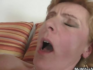 She helps her son in law cum