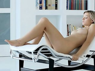 naughty young naked blonde