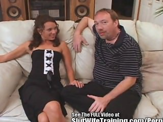Sperm Swallowing Wife Trained To Fuck!