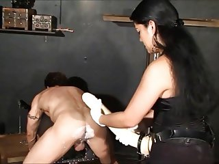 Herrin Tatjana Cruela - Hard Fucking with big strapons