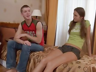 Teens with little Titties and tight hairy Pussies - Part 1
