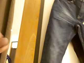 cum in changing room