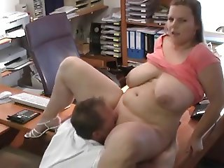 Hot Secretary Fucked in Office